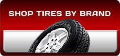 Shop Tires by Brand
