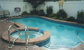 Half-In, Half-Out Above Ground Pool