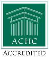 We are ACHC Accredited.