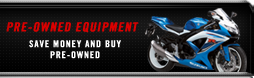 Pre-Owned Equipment: Save money and buy pre-owned.