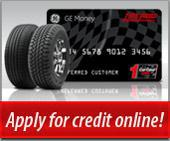 Apply for credit online!