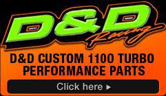 D&D Custom 1100 Turbo Performance Parts