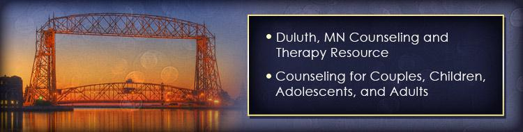 We are a counseling and therapy resource for couples, children, adolescents, and adults in Duluth, MN.