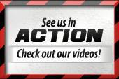 See us in action! Check out our videos!
