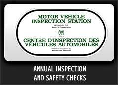 Annual Inspection and Safety Checks