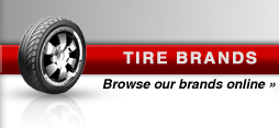 Tire Brands: Browse our brands online.