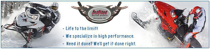 Motion Motor Sports. Life to the limit! We specialize in high performance. Need it done? We'll get it done right.