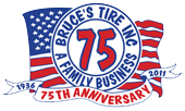 Bruce's Tire 75th Anniversary