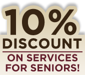 10% Discount on Services for Seniors!