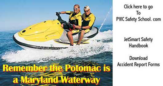 Water Craft Saftey, boat safety, Maryland waterways, VA waterways