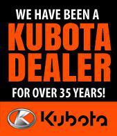 We have been a Kubota Dealer for over 35 years!