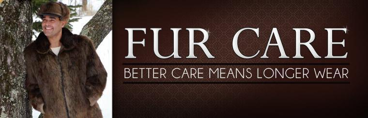 Click here for more information about fur care.