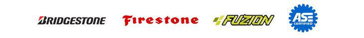 We carry products from Firestone, and Fuzion.
