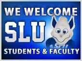 We welcome SLU Students & Faculty