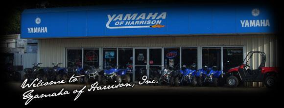 Yamaha of Harrison Store Front. Welcome to Yamaha of Harrison, Inc.