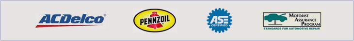 We carry ACDelco and Pennzoil products and are affiliated with the Motorist Assurance program. Our technicians are ASE certified.