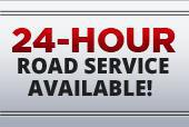 24-hour road service available!