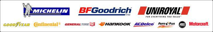 We carry products from Michelin®, BFGoodrich®, Uniroyal®, Goodyear, Continental, General, and Hankook. We use ACDelco, Parts Plus and Motorcraft, and we're ASE Certified.
