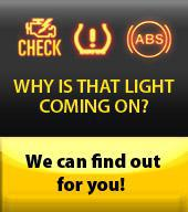 Why is that light coming on? We can find out for you!