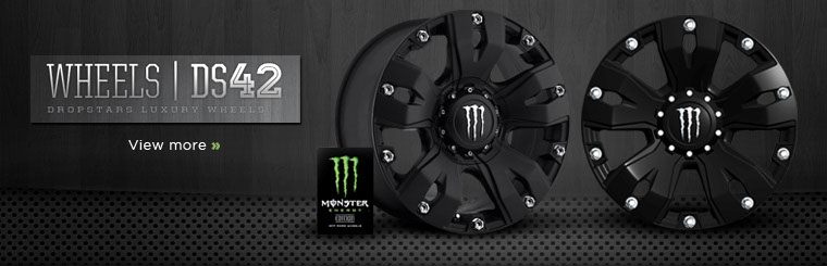 Click here to view the DS42 Monster Energy Edition wheel collection.