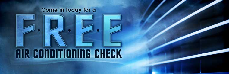 Come in today for a free air conditioning check! Click here to print the coupon.