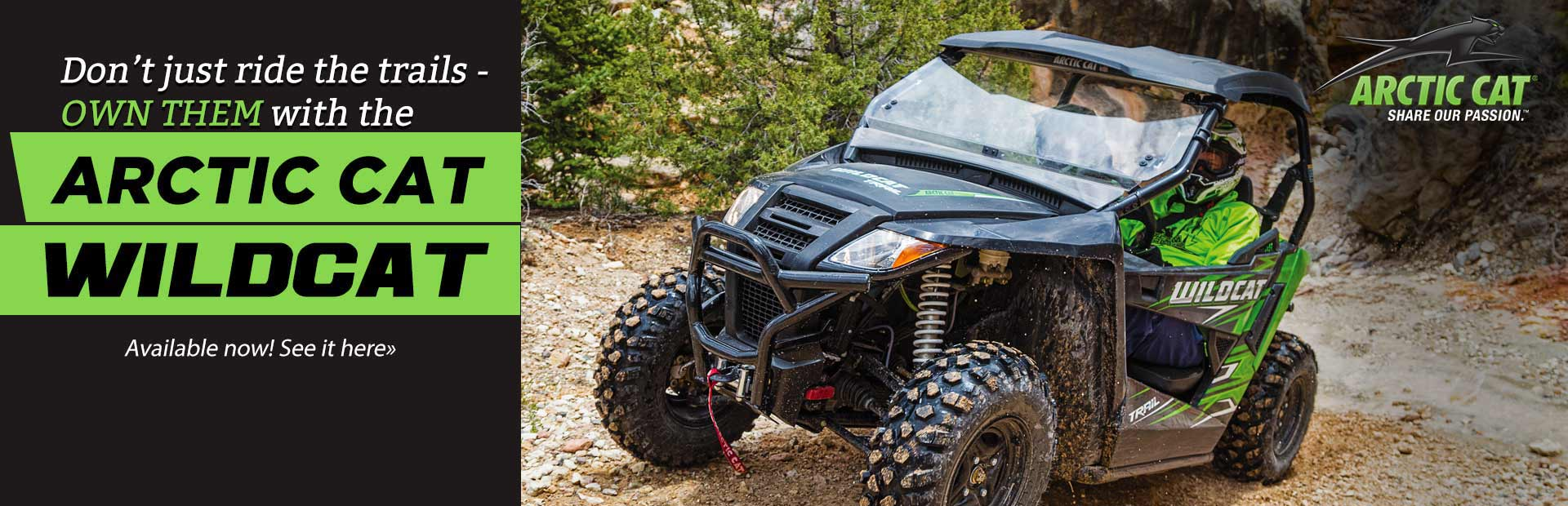 Arctic Cat Wildcat: Click here to view our showcase.