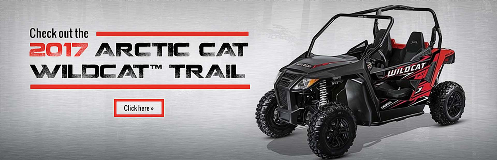 Click here to check out the 2017 Arctic Cat Wildcat™ Trail!