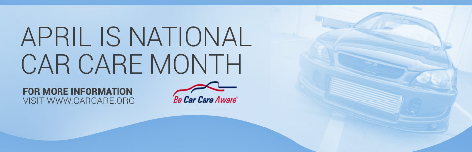 April is Car Car Aware Month
