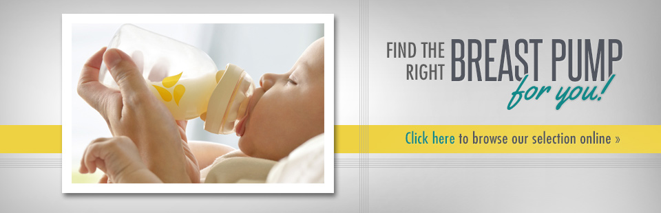 Shop our selection of breast pumps.