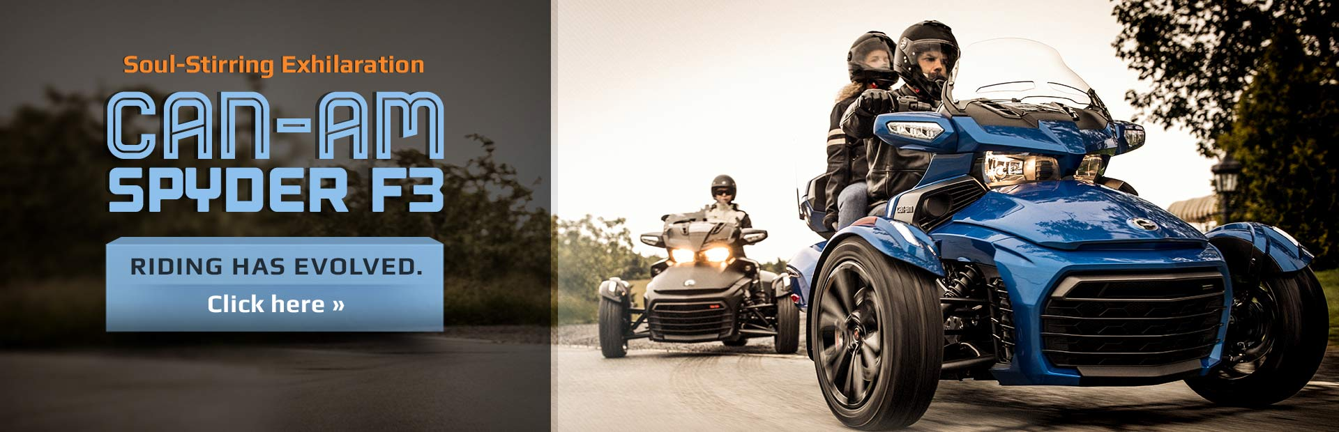 Can-Am Spyder F3: Click here to view the model.