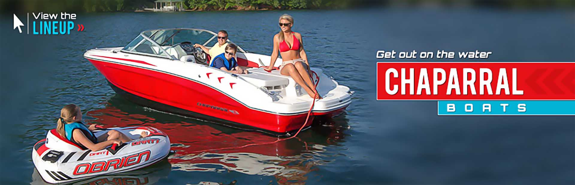 Click here to view our selection of Chaparral Boats!