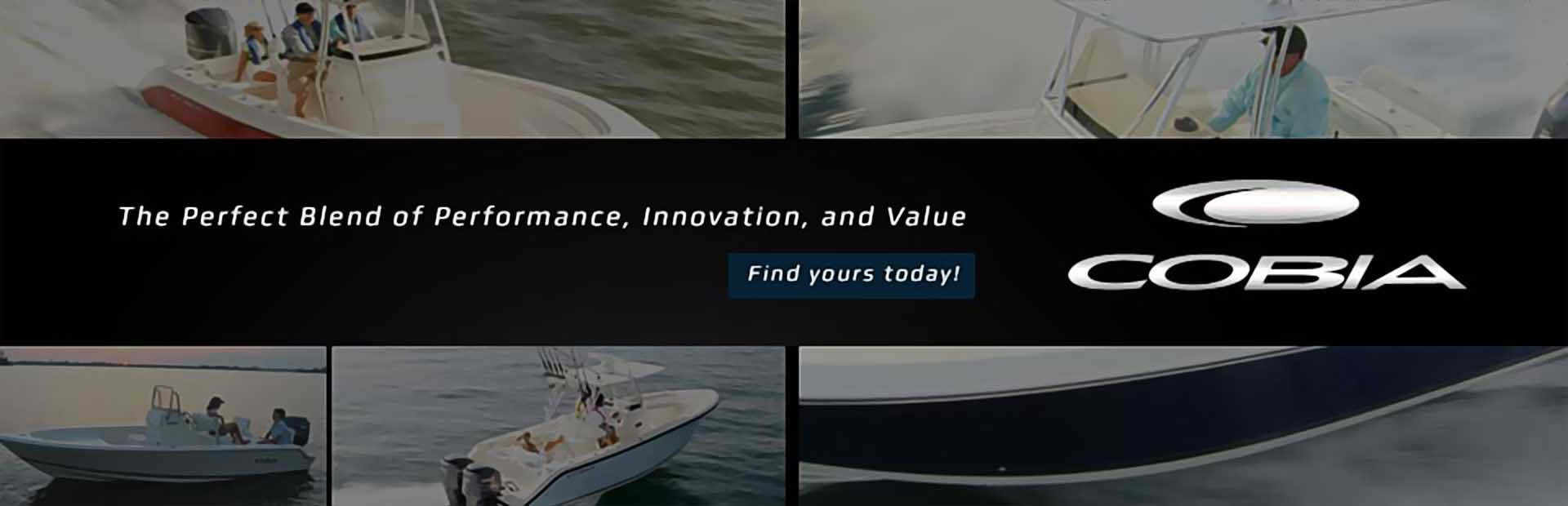 Cobia Boats: Click here to browse the lineup.