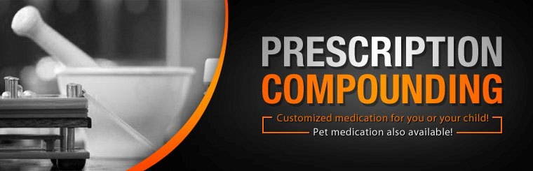 Click here to contact us about prescription compounding.