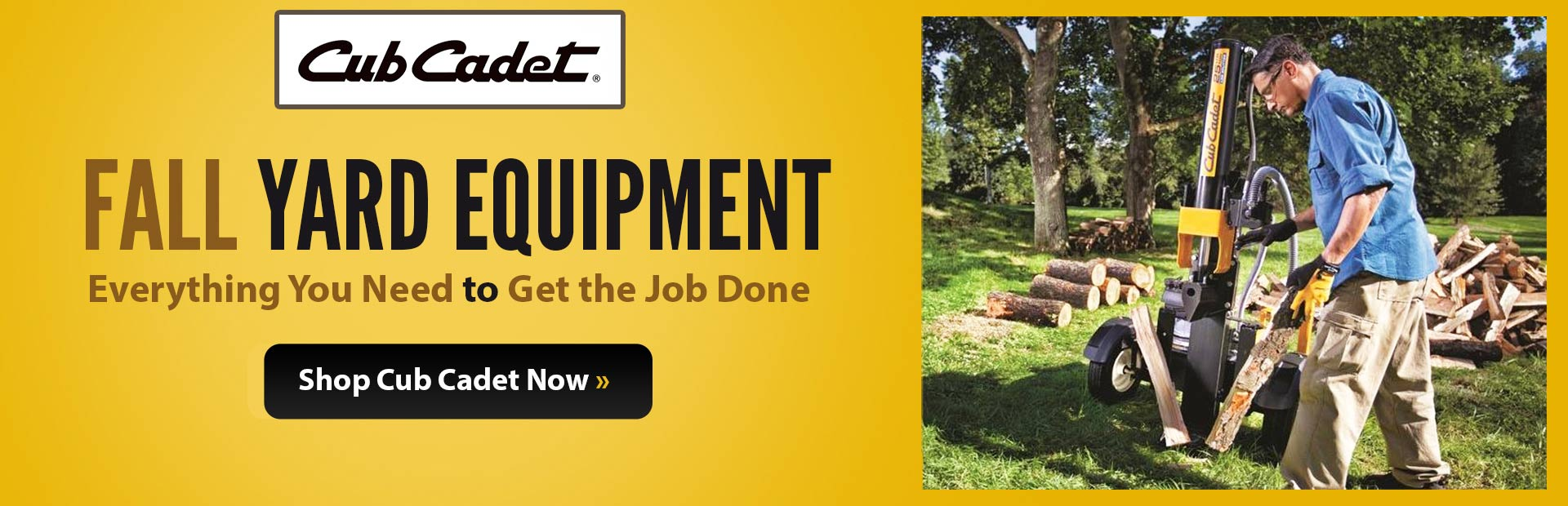 Browse Cub Cadet Yard Equipment.