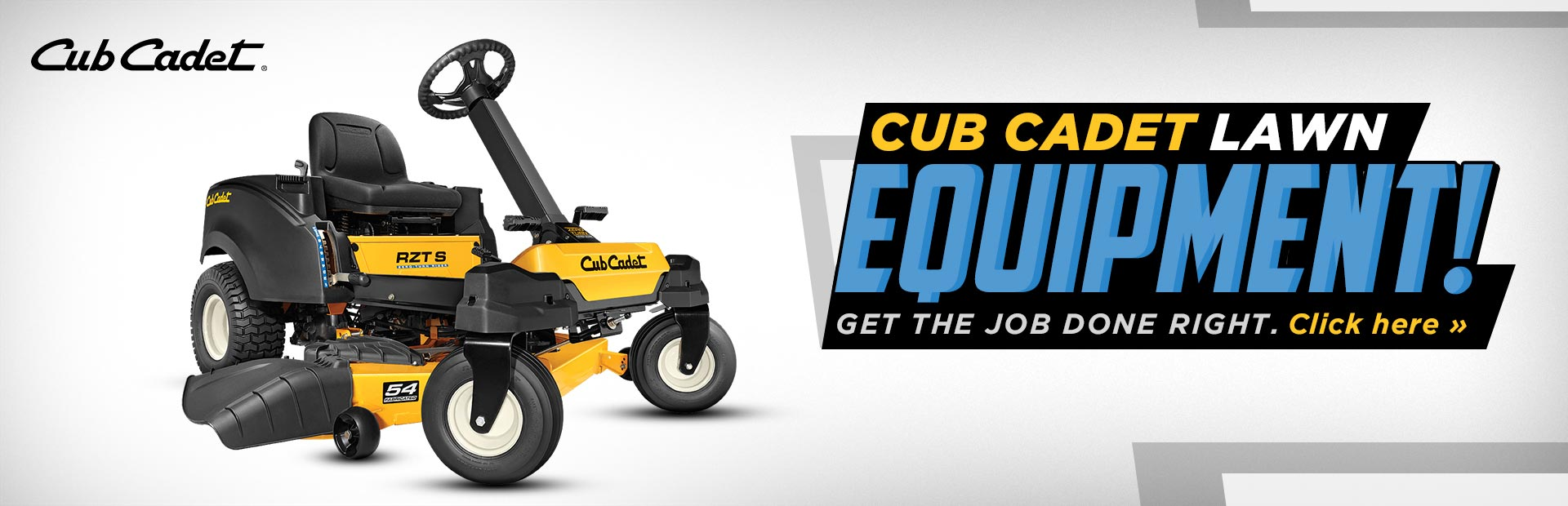 Cub Cadet Lawn Equipment: Click here to view the showcase!