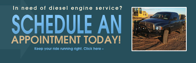 In need of diesel engine service? Schedule an appointment today! Click here to view our services.