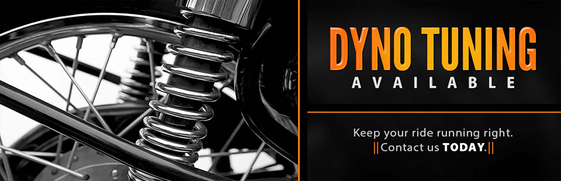 Dyno Tuning Available: Contact us today.