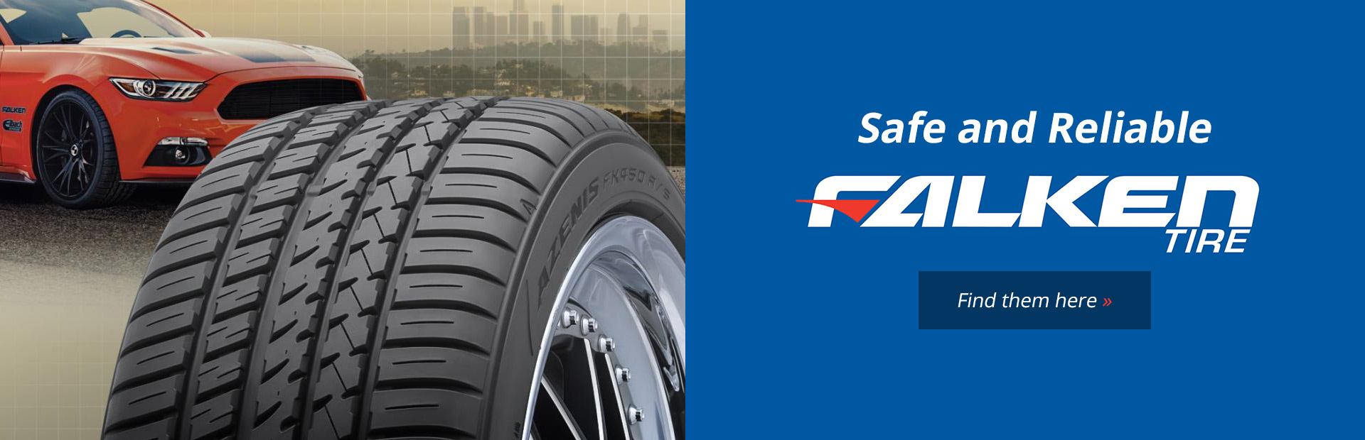 Click here to view Falken tires.