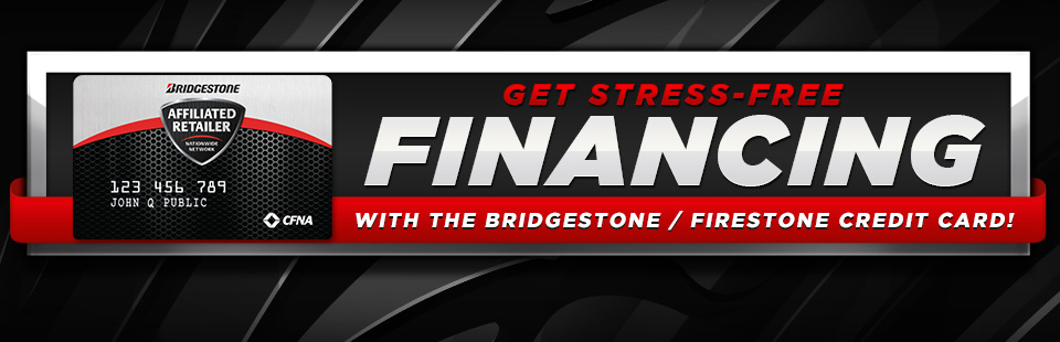 Click here to apply for the Bridgestone/Firestone credit card!