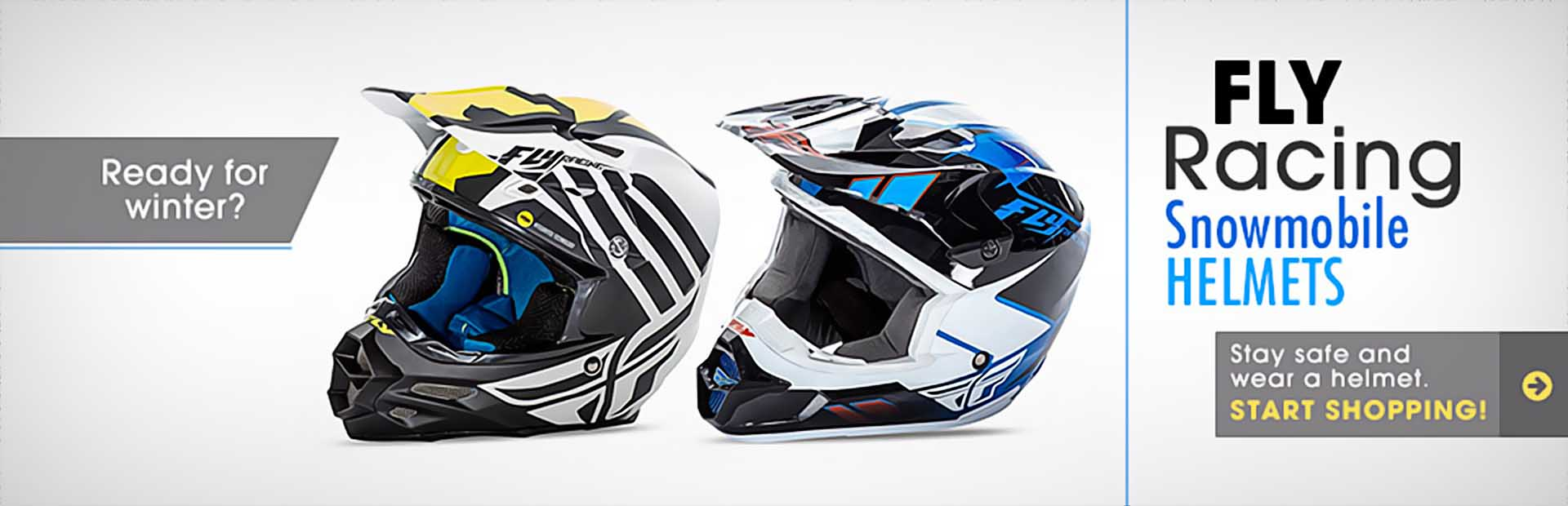 Fly Racing Snowmobile Helmets: Click here to shop online.
