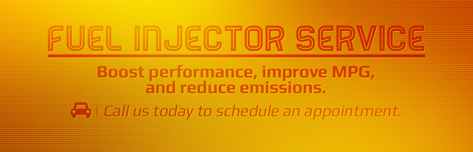 Fuel Injection Service: Call us today to schedule an appointment.