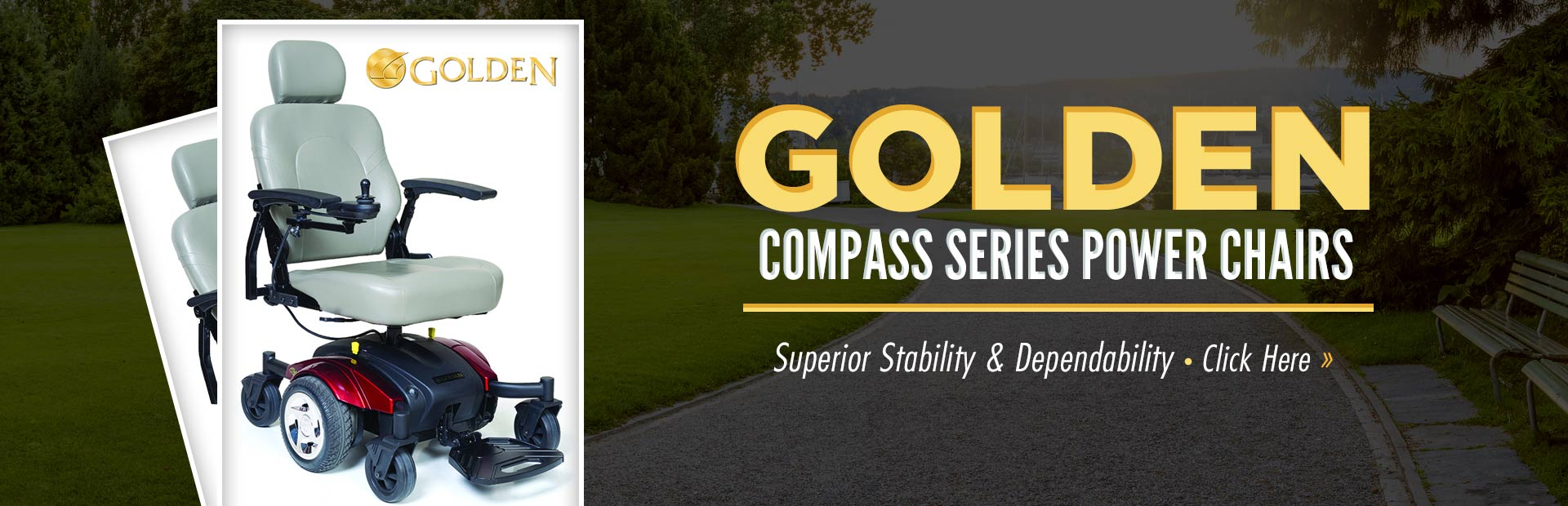 Golden Compass Series Power Chairs: Click here to view the models.