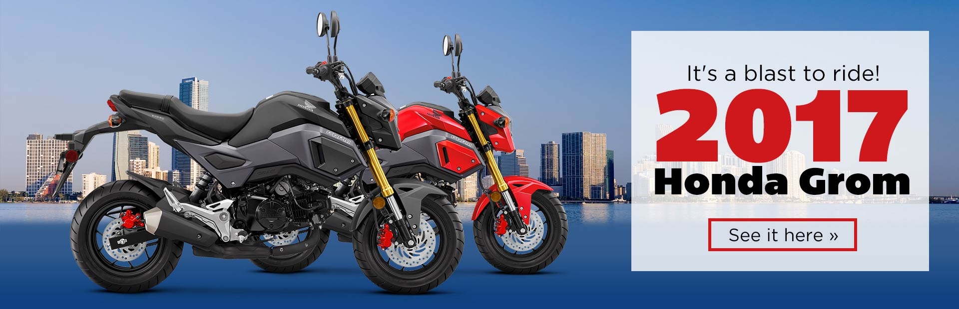 The 2017 Honda Grom Is A Blast To Ride Click Here View Model