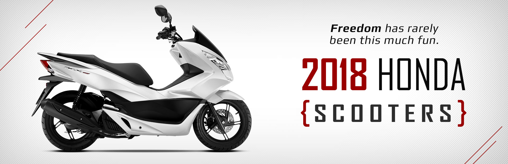 2018 Honda Scooters Click Here To View The Models