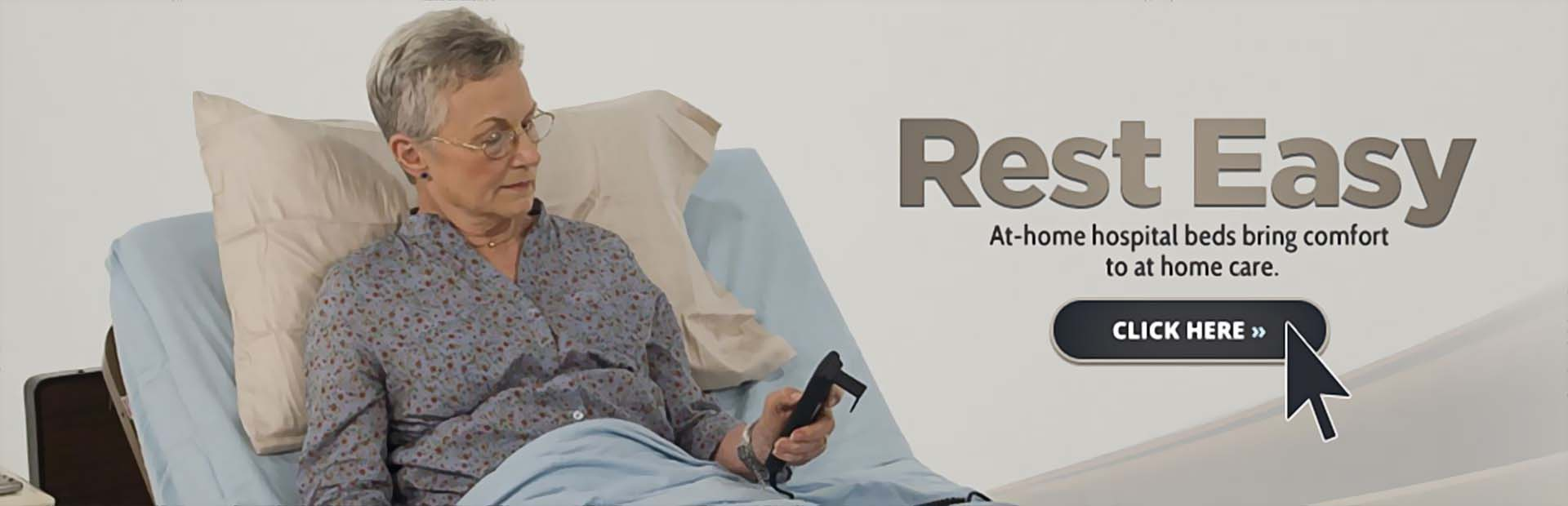 At-Home Hospital Beds: Click here to browse.