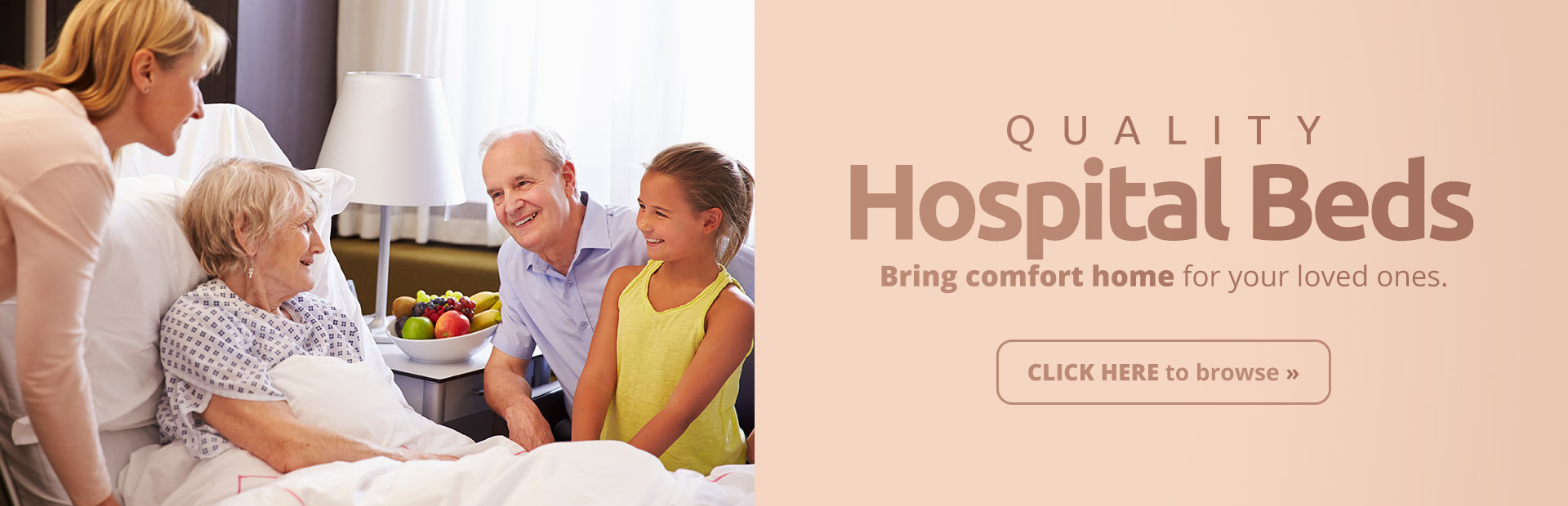 Quality Hospital Beds: Click here to browse.