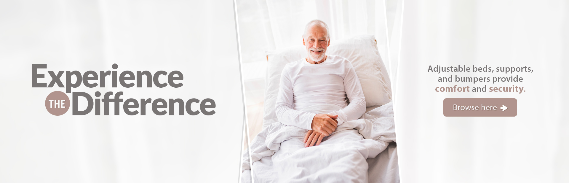 Click here to browse adjustable beds, supports, and bumpers.