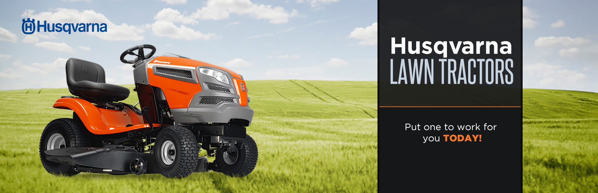 Husqvarna Lawn Tractors: Click here to view the models.