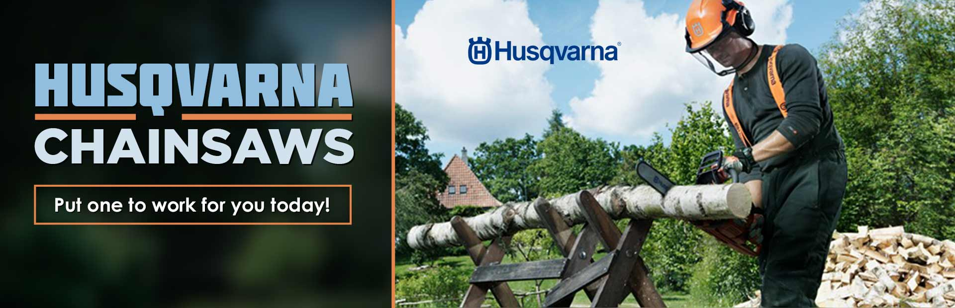 Husqvarna Chainsaws: Click here to view the models.