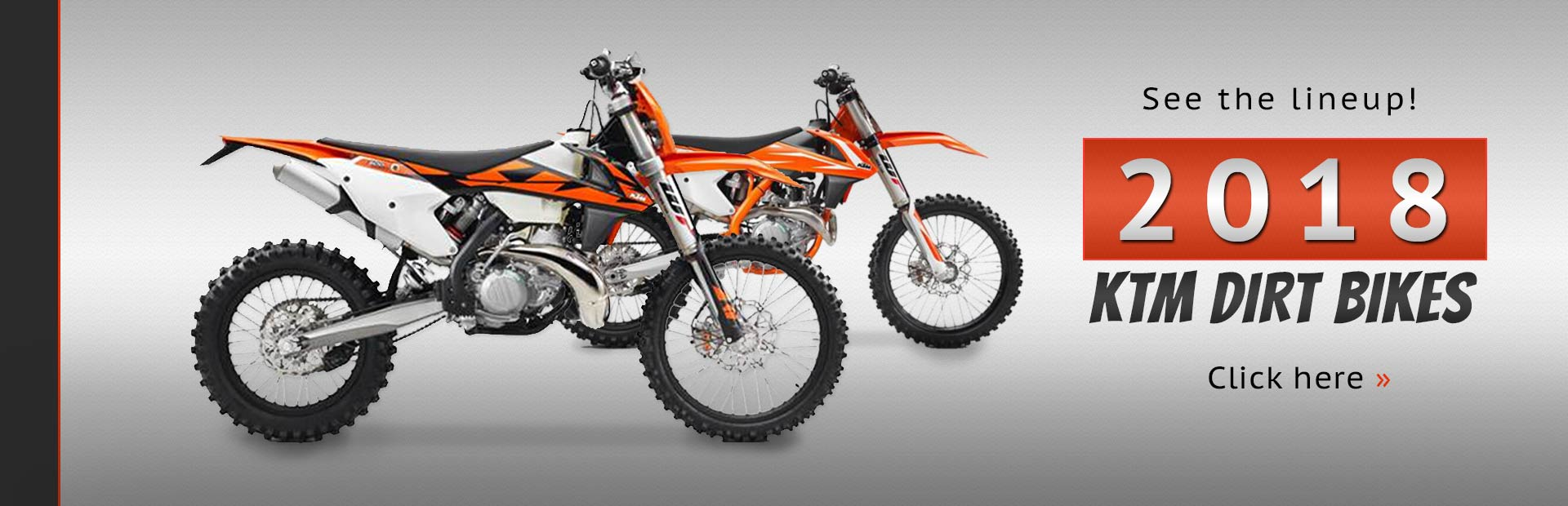 2018 ktm motocross bikes. beautiful bikes click here to view the lineup of 2018 ktm dirt bikes and ktm motocross bikes e